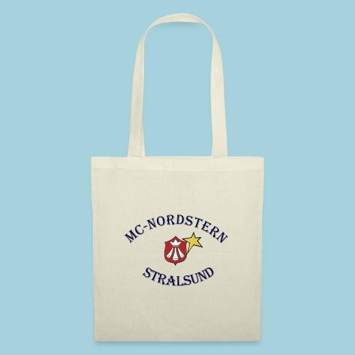 MC Nordstern Schrift gebogen - Stoffbeutel