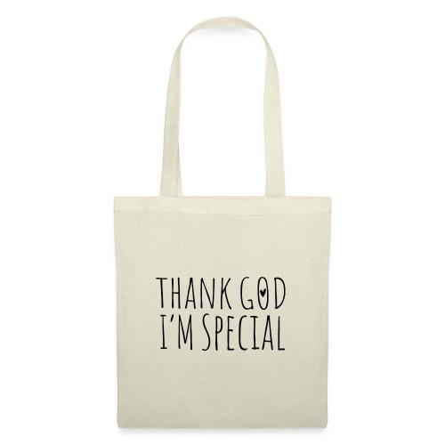 THANK GOD IM SPECIAL - Stoffbeutel