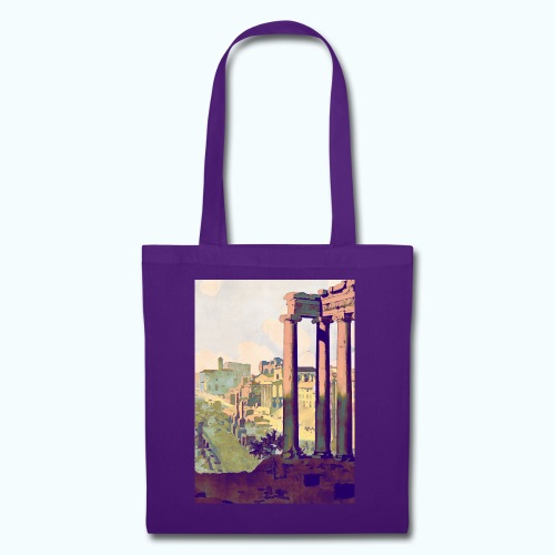 Rome Vintage Travel Poster - Tote Bag