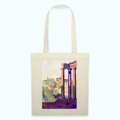 Rome Vintage Travel Poster - Tote Bag