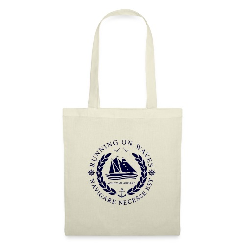 RUNNING ON WAVES - Tote Bag