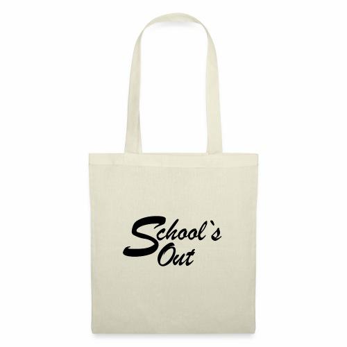 School`s out - Stoffbeutel