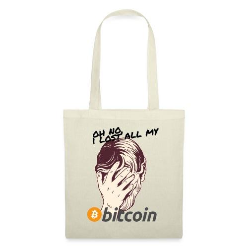 I lost my Bitcoin! BTC - Stoffbeutel