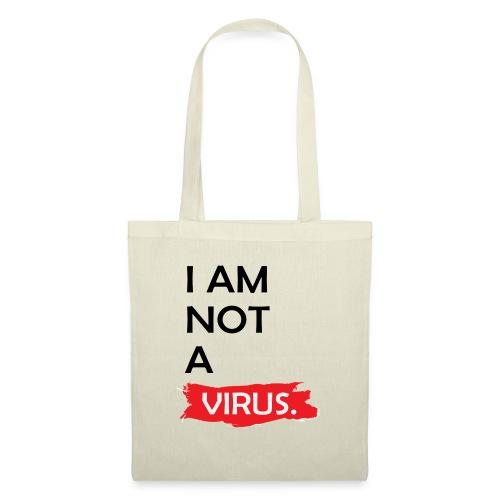 Corona virus T-shirt - Sac en tissu