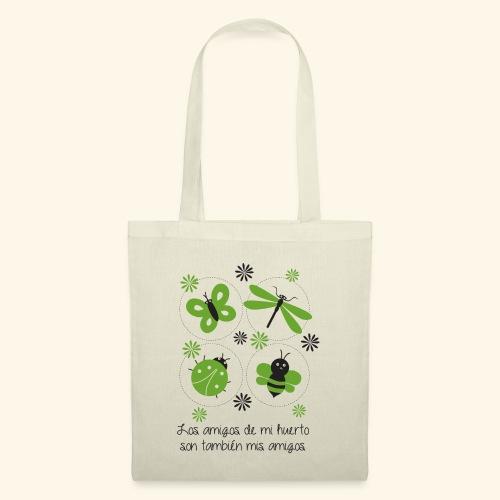 Amigos del huerto y el jardín - Bolsa de tela