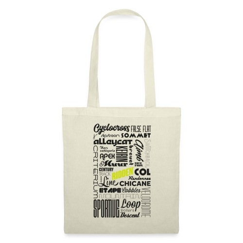 Road Terms Ridden - Tote Bag