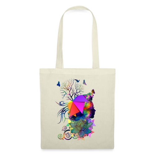 Lady Colors by T-shirt chic et choc - Tote Bag