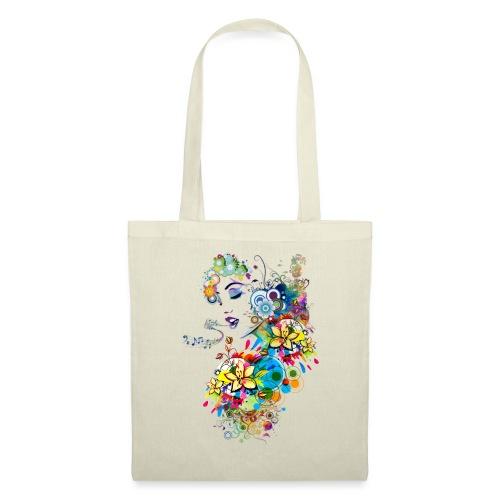 Lady singer - Tote Bag