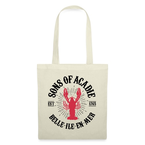 SONS OF ACADIE HOMARD ROUGE - Tote Bag