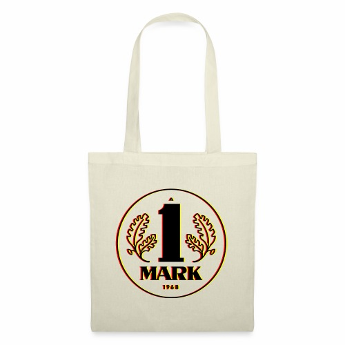 Ostmark 3D Schwarz Rot Gold - Tote Bag