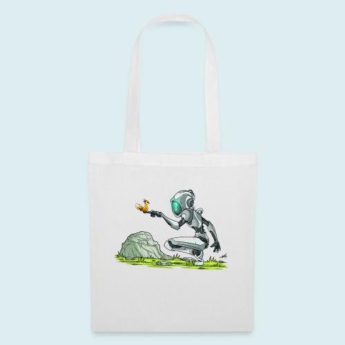 funny robot - Borsa di stoffa