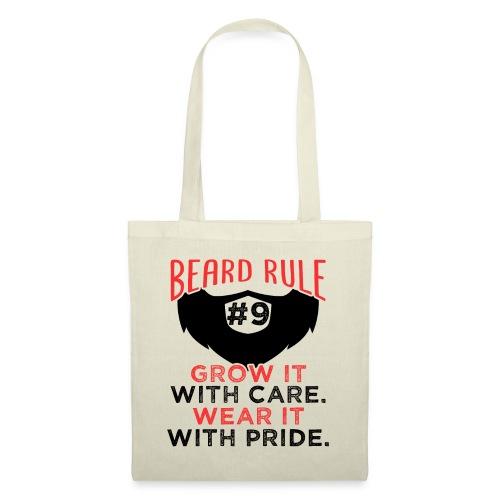 Beard Rule #9 - Stoffbeutel