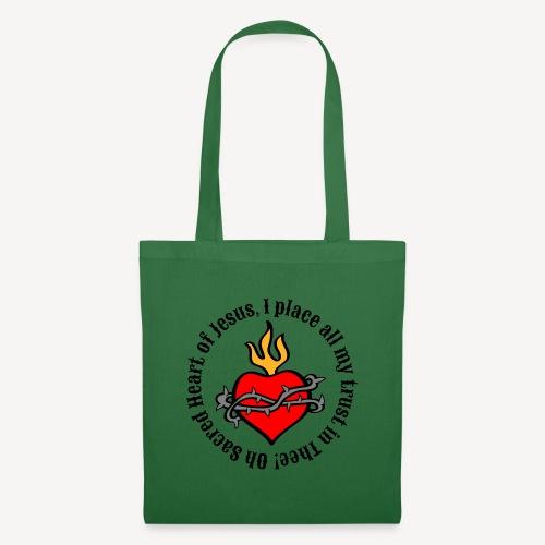Oh Sacred Heart of Jesus... - Tote Bag
