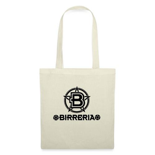 Logo Birreria 2021 Black - Stoffbeutel
