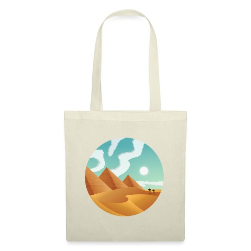 Journey Through Sands - Tote Bag