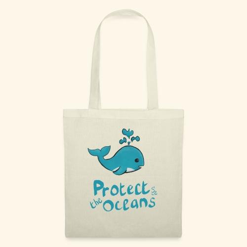 Protèges les océans - Sac en tissu
