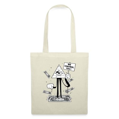 We Control You - Conspiration Design - Tote Bag
