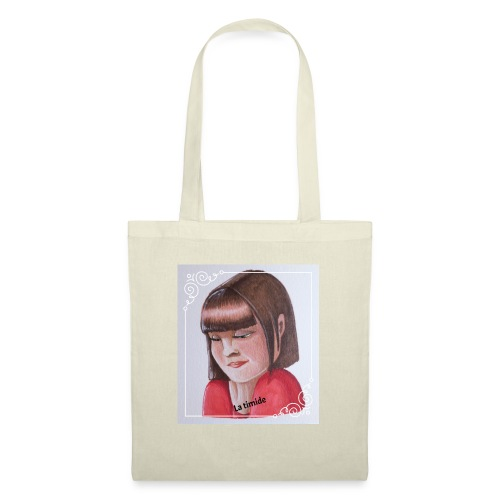 fille timide - Tote Bag