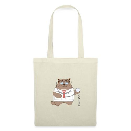 Katzen Arzt - Sancho Cat © - Stoffbeutel