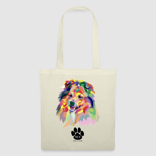 Happy Little Sheltie - Tote Bag