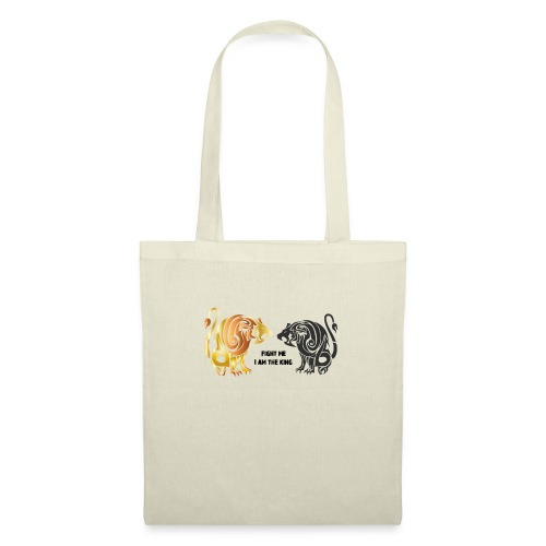 fight me #lion #king - Tote Bag