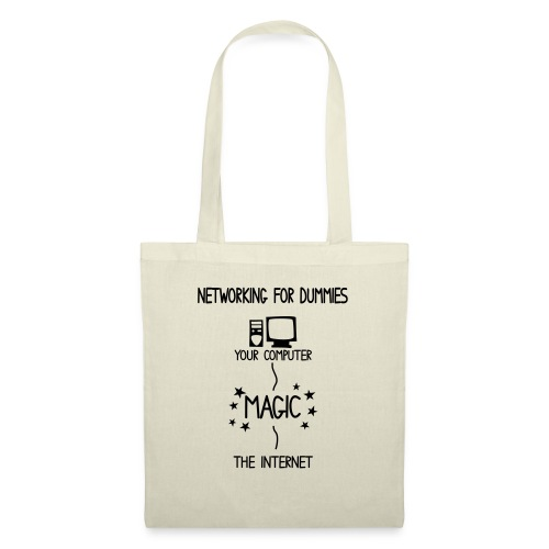 Network Schematic for Dummies - Tote Bag
