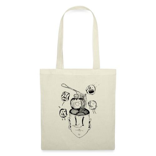 Spaghetti head - Tote Bag