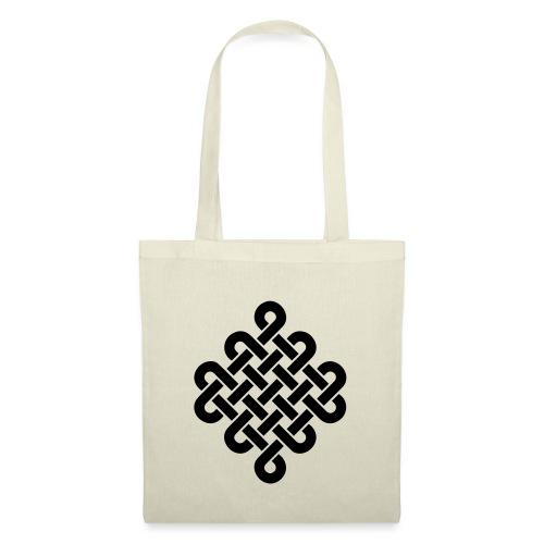 Unendlich Symbol Tattoo Buddhismus Knoten endlos - Stoffbeutel