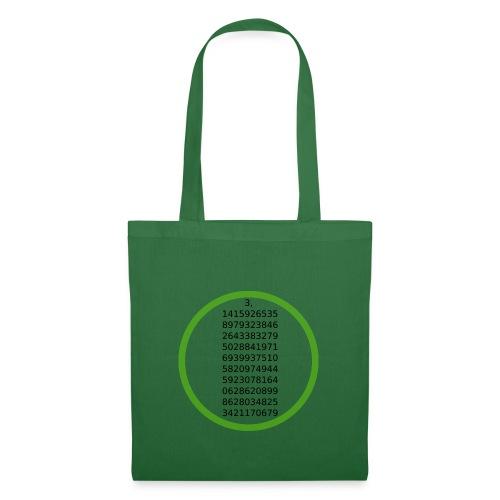 Number Pi Green Circle - Kangaskassi
