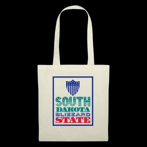 South Dakota blizzard state - Tote Bag