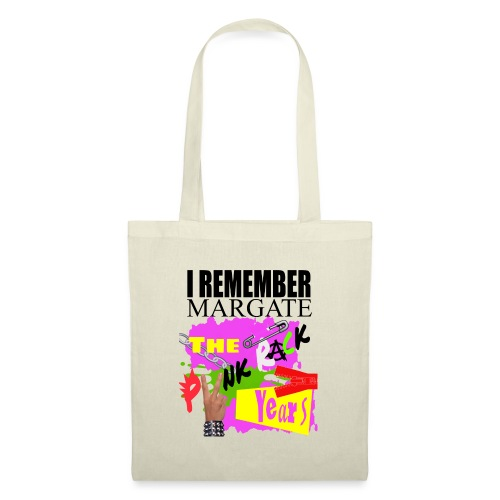 I REMEMBER MARGATE - THE PUNK ROCK YEARS 1970's - Tote Bag
