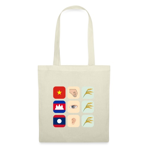 Proverb about Vietnam, Cambodia and Laos - Tote Bag