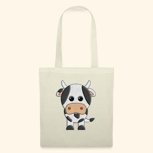 vaquita de peluche vaca cow - Bolsa de tela