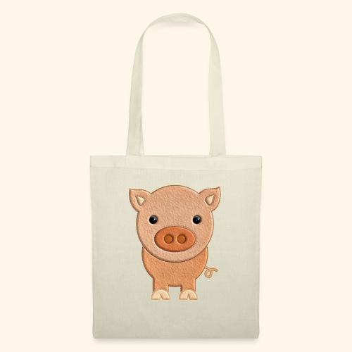 Cerdito de peluche Pig Cerdo - Bolsa de tela