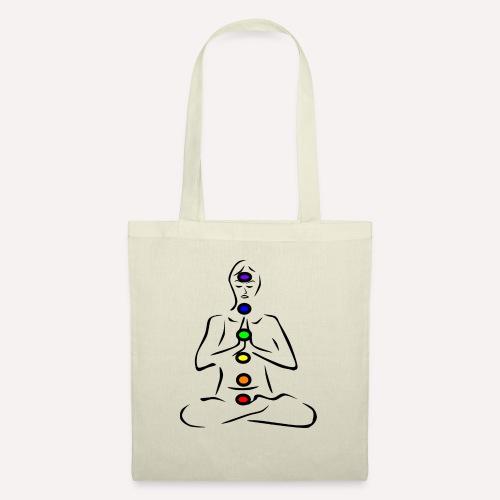 chakras illustrated - Tote Bag