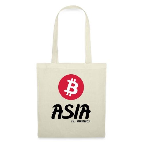Bitcoin Asia el infinito - Bolsa de tela