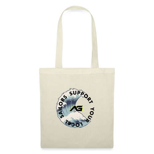 •Support your Local Sailor - Borsa di stoffa