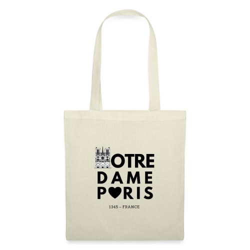 NOTRE DAME PARIS - Sac en tissu