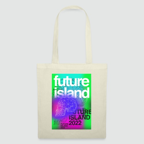 Future Island - Ghostbox II official T-Shirt - Stoffbeutel