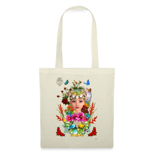 Lady spring - By t-shirt chic et choc - Tote Bag
