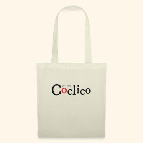 logo Coclico noir - Sac en tissu