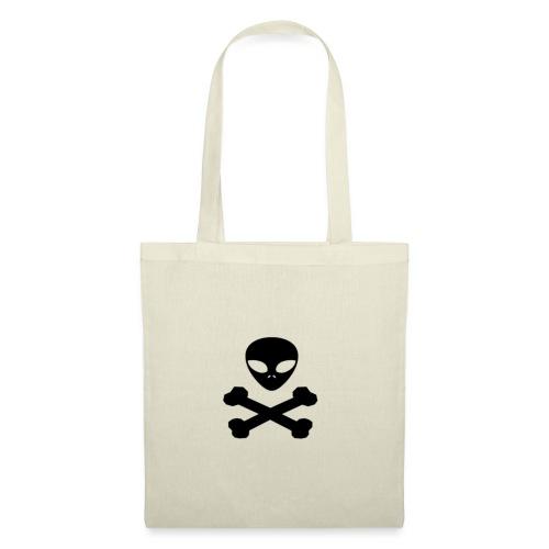pirata alienígena - Bolsa de tela