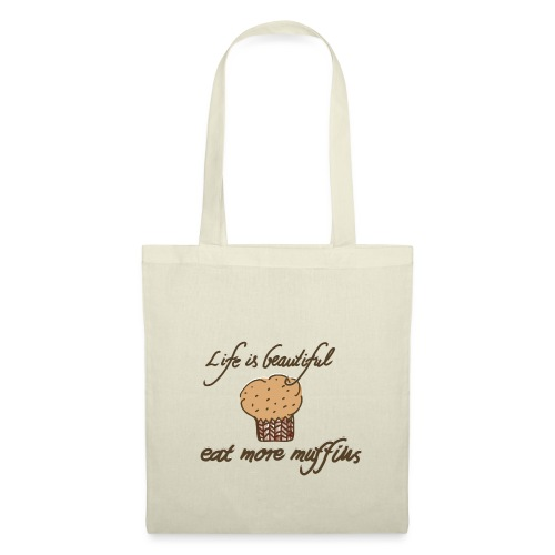 Eat more Muffins - Stoffbeutel