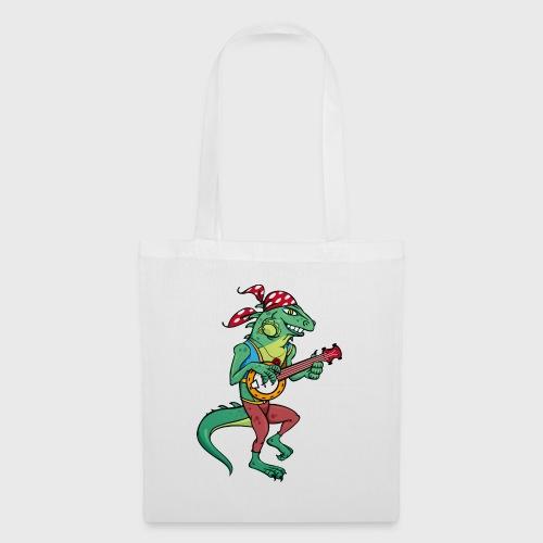 Tzigane iguane avec Banjo - Tote Bag