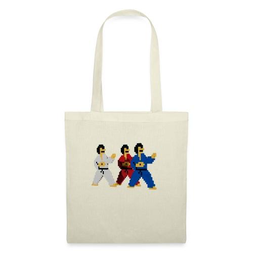 8 bit trip ninjas 1 - Tote Bag