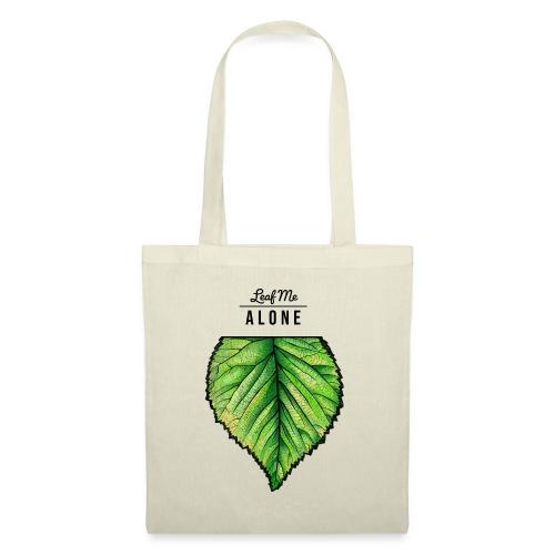 Leaf me Alone - Stoffbeutel