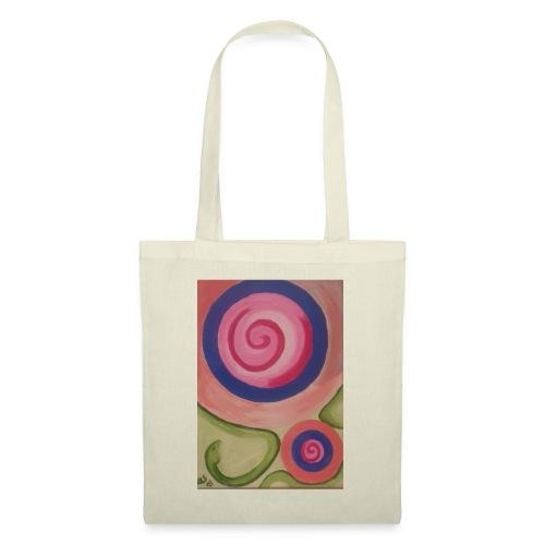 spirale con serpente - Borsa di stoffa