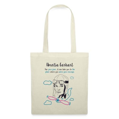 Amelia Earhart - Tote Bag