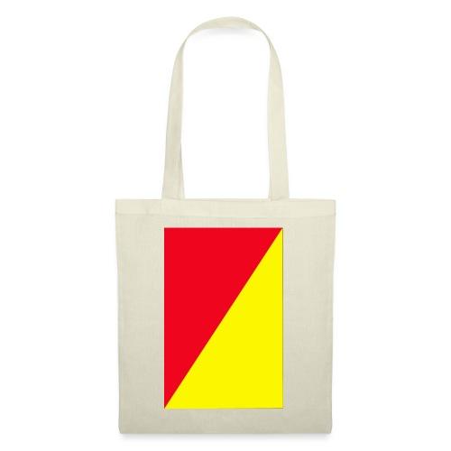 Anima giallo-rosso - Borsa di stoffa
