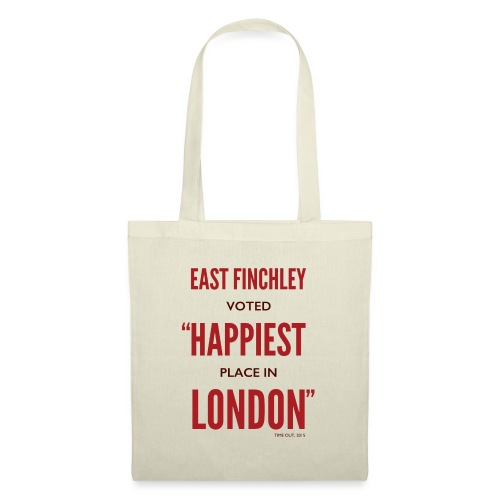 East Finchley Happiest Place in London - Tote Bag